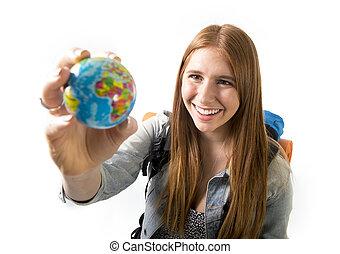 mooi, weinig; niet zo(veel), concept, kies, haar, globe,...