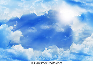 mooi, wolken