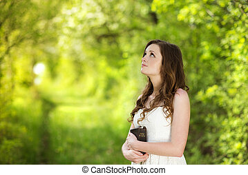 mooie vrouw, bijbel
