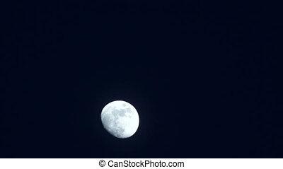 Moom full night sky