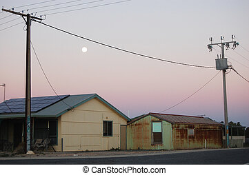 Moon and houses
