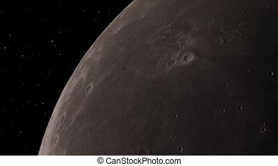 Moon background Realistic video. The Moon is an astronomical...