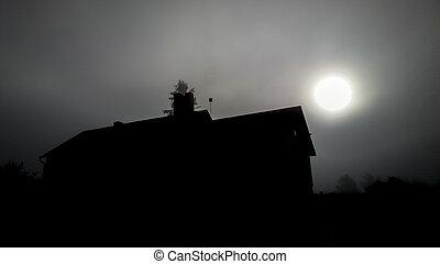 moon house
