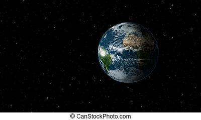 Moon Orbits Earth
