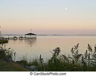 Moon Over Bay