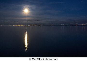 Moon Over Jura Mountain, Swiss