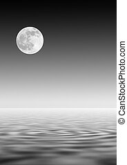 Moon Over Water