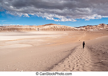 Moon Valley (Chile) - Views of Moon Valley (Atacama, Chile)