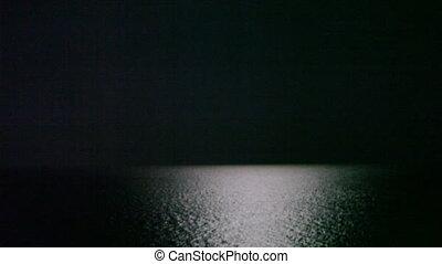 moonlight at the ocean