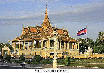 Moonlight Pavailion, Royal Palace, Phnom Penh, Cambodia