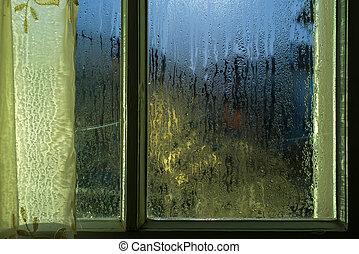 Moonlight through the window