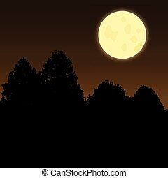moonscene, crepuscolo