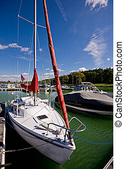Moored for the season