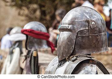 Moorish and christian warriors armours