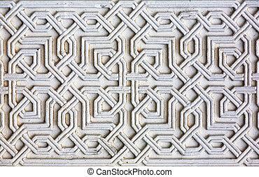 Moorish facade ornament