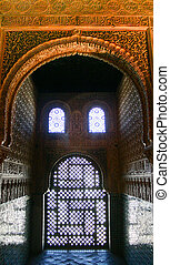 Moorish Palace Window