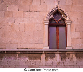 Moorish window split Croatia
