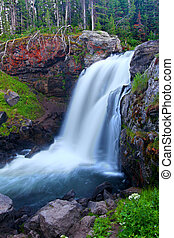 Moose Falls Yellowstone National Park