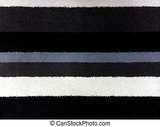 Model blanc noir moquette model oreillers plancher sofa noir devant blanc moquette for Moquette rayee