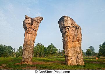 mor, chaiyaphum, hin, khao, stonehenge