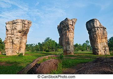 Mor Hin Khao Chaiyaphum Stonehenge