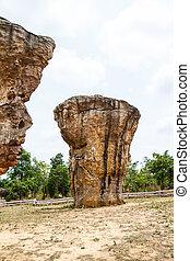 Mor Hin Khao park in Thailand