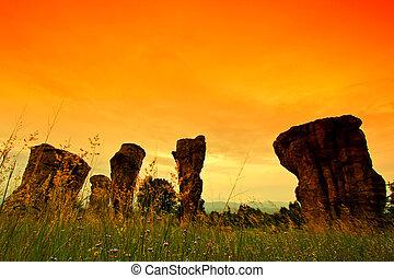 Mor Hin Khao, Stonehenge of Thailand in Chaiyaphum Province