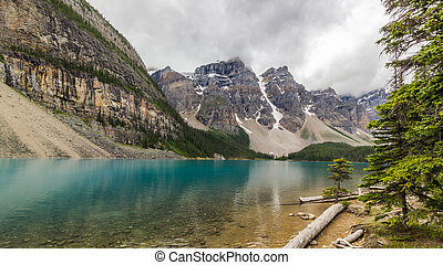 Moraine lake Banff National Park, Alberta, Canada.