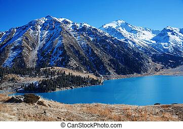 Moraine Lake, Canada - Moraine Lake in Banff National Park,...