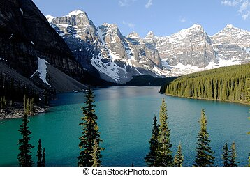 Moraine Lake, Canadian Rockies, Canada