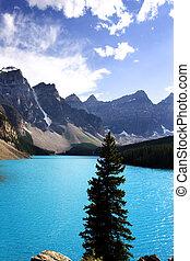 moraine lake - Banff Alberta