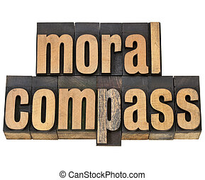 moral compass - ethics concept - moral compass- ethics...
