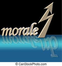 morale, vecteur, augmenté