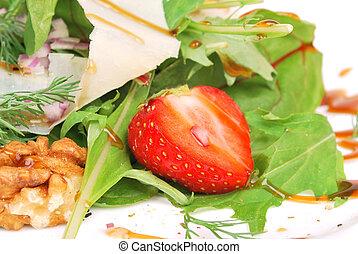 moranguinho, em, salada