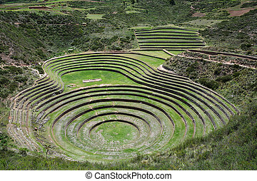 Moray, Sacred Valley of the Incas, Peru.