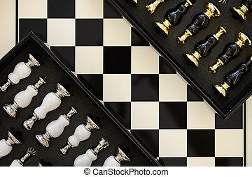 morceaux, échecs abordent