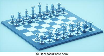 morceaux, échecs, gameboard