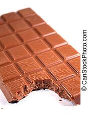 mordedura, chocolate