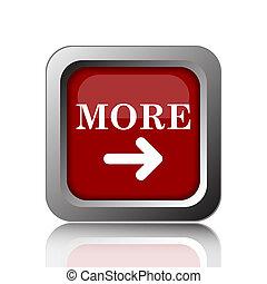 More icon. Internet button on white background