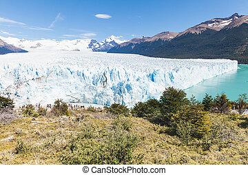 moreno, argentyna, 2, perito, patagonia