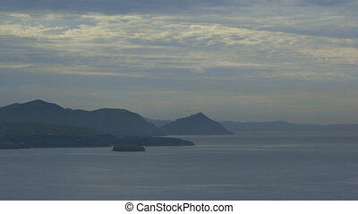 Moresby Islands, Papua New Guinea - Wide still late evening...
