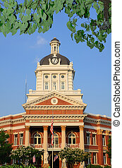 Court House - Morgan County Court House in Morgan County, ...