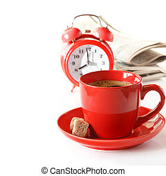 morgon, coffee.