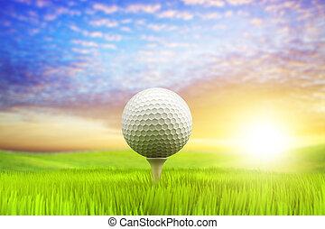 morgon, golf