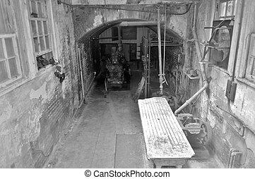 Morgue - The morgue at Alcatraz