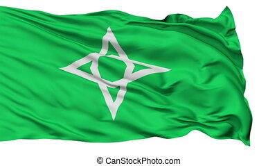 Morioka Capital City Isolated Flag - Morioka Capital City...