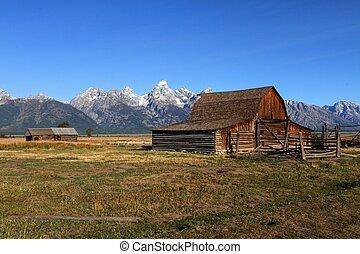 Mormon Row Barn in the Grand Tetons