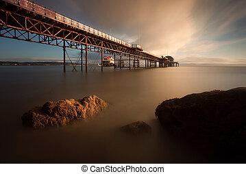 Morning at Mumbles pier