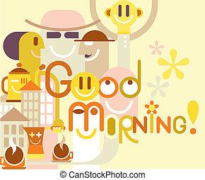morning!, dobry