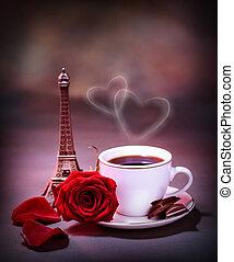 Morning drink in Paris